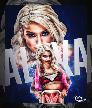 Alexa Bliss  by SadeqParvez