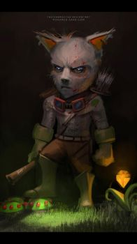 Captain Teemo on Duty by TheFearMaster