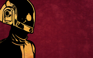 Daft Punk Guy-Man Wallpaper by xDaftPunk