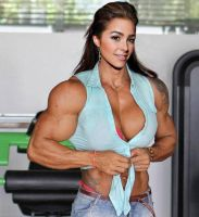 Olivia Culpo Muscled Up by Turbo99