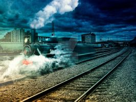 Ghost train... by endrju100