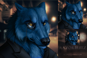 Razorblitz Icon Commission by DarkIceWolf