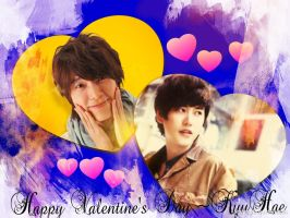 Kyuhyun and Donghae~ Love youu!! by crystalSHINee4evr