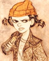 Ashley Spinelli by MistyTang