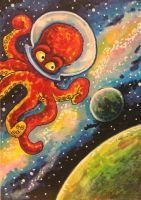 ACEO: Octonaut by DanielleMWilliams