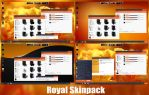 Royal Skin pack For Windows 7/8/8.1 by TheDhruv