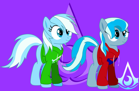 New Hoodies For The Twins! by Discourt