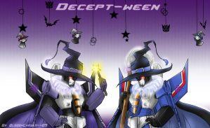 Decept-Ween by BloodyChaser