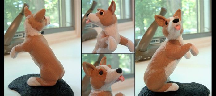 The Dancing Corgi by eitherwise