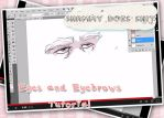 Eyes and Eyebrows Tutorial - Link in Description! by ShamanEileen