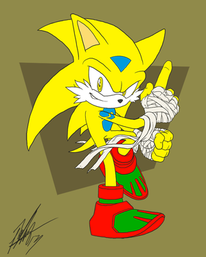 Series Echono the Hedgehog by ShockRabbit