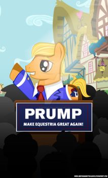 Make Equestria Great Again by iamthemanwithglasses