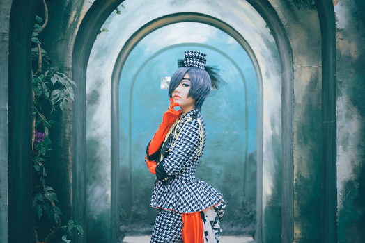 Ciel Phantomhive ver Houndstooth by KatCameo