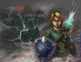 Legend of Link by phomax