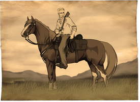 .: Outlaw Trail Charactersheet :. by SaphiraJK