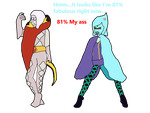 Ghirahim and Fi Body Swap by thepontusandersson