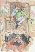 Umbridge vs. The Weasleys by mjOboe