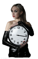 clock girl png by JessicaRufus