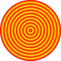 48 circle solar target by 10binary