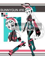 bunny gun adoptable CLOSED # 16 by AS-Adoptables