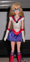 Saban Moon (Toon Makers) Sailor Moon Custom Doll by fokkusu1991