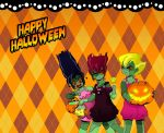 Have a Pretty and Dangerous Halloween by DREIGNUS