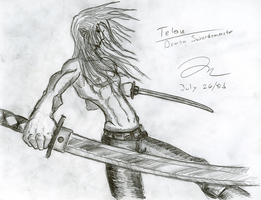 Telan Muscle and Forshortening by Draxen