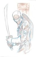 Snake Eyes blue pencils by JoeyVazquez