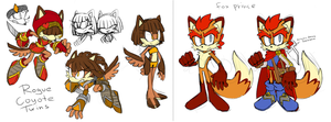 Original characters. Do not steal! :D by KetrinDarkDragon