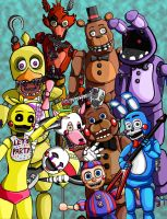 Five Night at freddy's 2 the return by TheItalianBerry