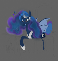 Luna - The Night Queen coloring by Gela-G-I-S-Gela