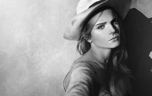 Emma watson value study potrait by DigitalSashimi