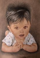 drawing of a baby on the internet. by Fatih-1