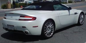 Aston-Martin V8 Vantage Cam-Phone Pic by Dirty-Glasses