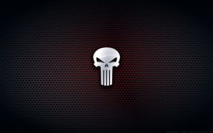 Wallpaper - Punisher Comix Logo by Kalangozilla
