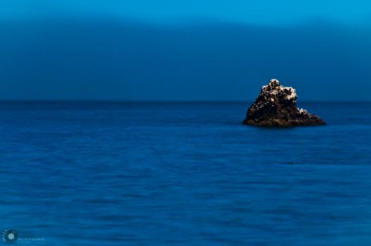 Alone upon the deep blue sea by BallPhotographicNW