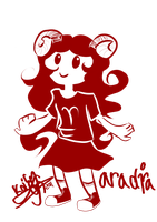 Aradia chibi by Koimalin