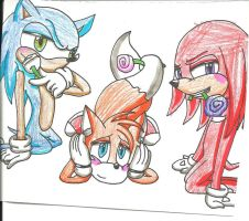 Team Sonic: Valentines by cmara