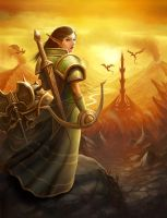 Warcraft cover 'Sunset' by PRDart