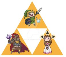 LoZ Magnets FINAL by Kauritsuo