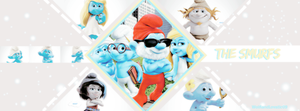 +Smurfs FB Timeline by WolfiandLovatic09