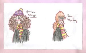HP: Girls by SaneAsIam98