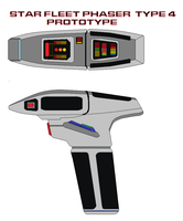 Star fleet phaser  type 4 prototype by bagera3005