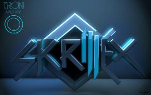 Skrillex Wallpaper -HeroMAU5 'Tron Legacy' EDIT- by HeroMAU5