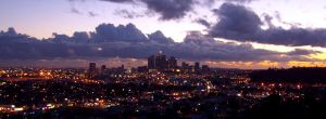 Downtown Los Angeles 2 by Raydog