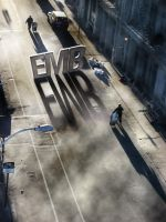 EMB in the street by odinemb