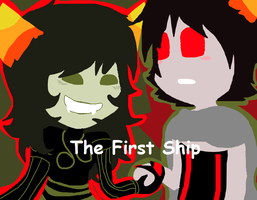 The First Ship by wafflesaregooderz83