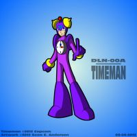 Mega Man 1 - Timeman by TheRealSneakers