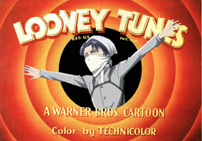 Rivaille and Looney Tunes by Arlen-McTaranis