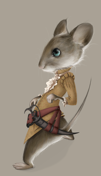 17th Century Mouse by LightAndShadowSmith